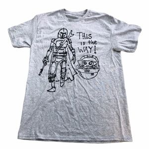 """Disney's The Mandalorian """"This is the Way"""" T-Shirt"""